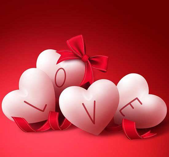 любовь и сердечки картинка