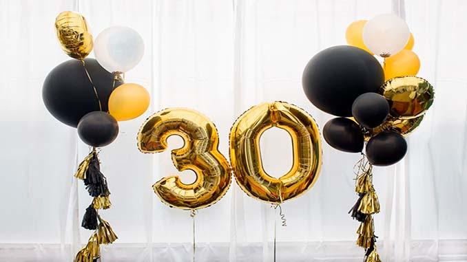 Поздравления мужчине с юбилеем 30 лет