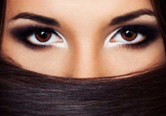 Стихи про красивые глаза девушки