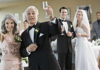 Поздравления молодым на свадьбу от родителей невесты